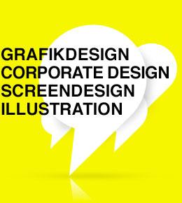 Grafikdesign, Corporate Design, Screendesign, Illustration
